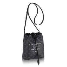 Louis Vuitton M43418 Nano Bag Crossbody Bag Monogram Eclipse Canvas