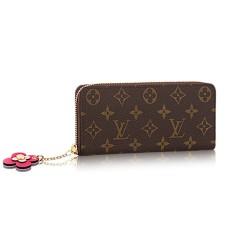 Louis Vuitton Clemence Wallet M64201 Monogram Canvas