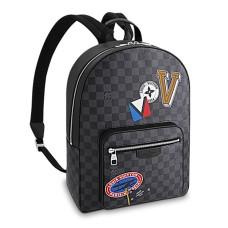 Louis Vuitton Josh Backpack N64424 Damier Graphite Canvas