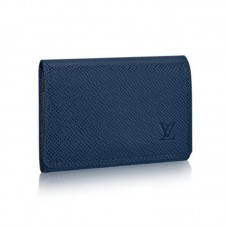 Louis Vuitton Enveloppe Carte de Visite M64022 Taiga Leather
