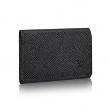 Louis Vuitton Enveloppe Carte de Visite M64021 Taiga Leather