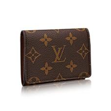 Louis Vuitton Enveloppe Carte de Visite M63801 Monogram Canvas