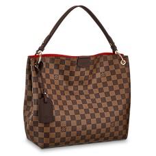 Louis Vuitton Graceful PM N44044 Damier Ebene Canvas