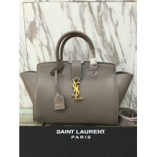 YSL Downtown Cabas Tote 30cm Grey