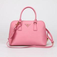 Prada 0837 Tote Bag In Cherry Pink