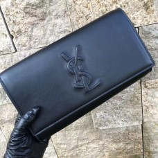 YSL Clutch 27cm Black