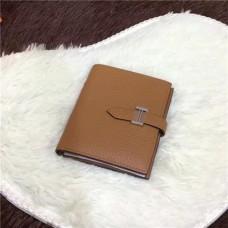Hermes Bi-Fold Wallet H006 light coffee