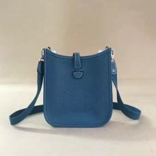 Hermes Mini Evelyne TPM Bag Blue