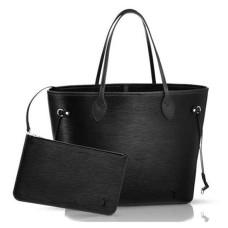 Louis Vuitton M40932 Neverfull MM Shoulder Bag Epi Leather