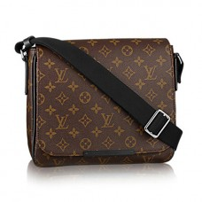 Louis Vuitton M40935 District PM Messenger Bag Monogram Macassar Canvas