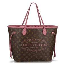 Louis Vuitton M40939 Neverfull MM Shoulder Bag Monogram Canvas