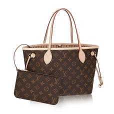 Louis Vuitton M41000 Neverfull PM Shoulder Bag Monogram Canvas
