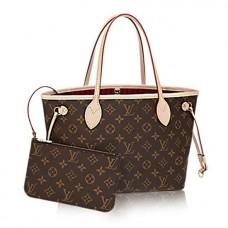 Louis Vuitton M41001 Neverfull PM Shoulder Bag Monogram Canvas