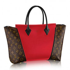 Louis Vuitton M41229 W PM Tote Bag Monogram Canvas