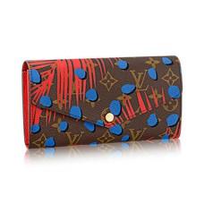 Louis Vuitton M41381 Sarah Wallet Monogram Jungle Dots