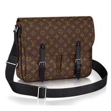 Louis Vuitton M41643 Christopher Messenger Bag Monogram Macassar Canvas