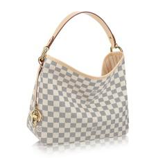 Louis Vuitton N41462 Delightful PM Hobo Bag Damier Azur Canvas